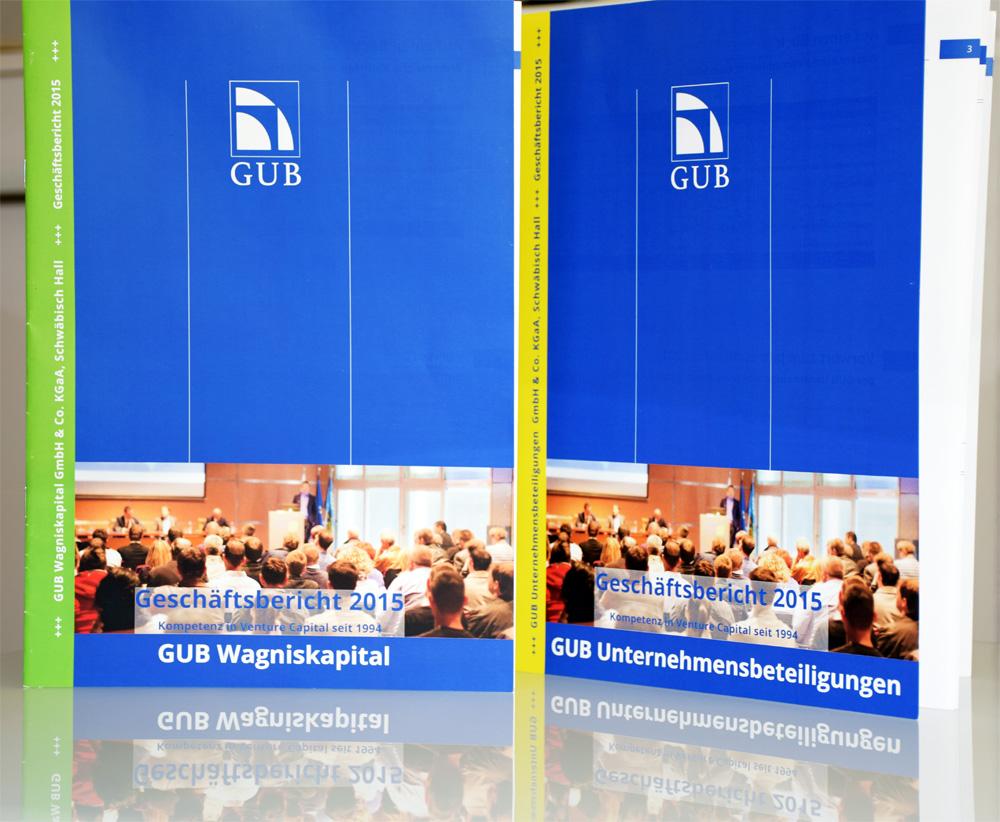 GUB Geschäftsbericht 2015