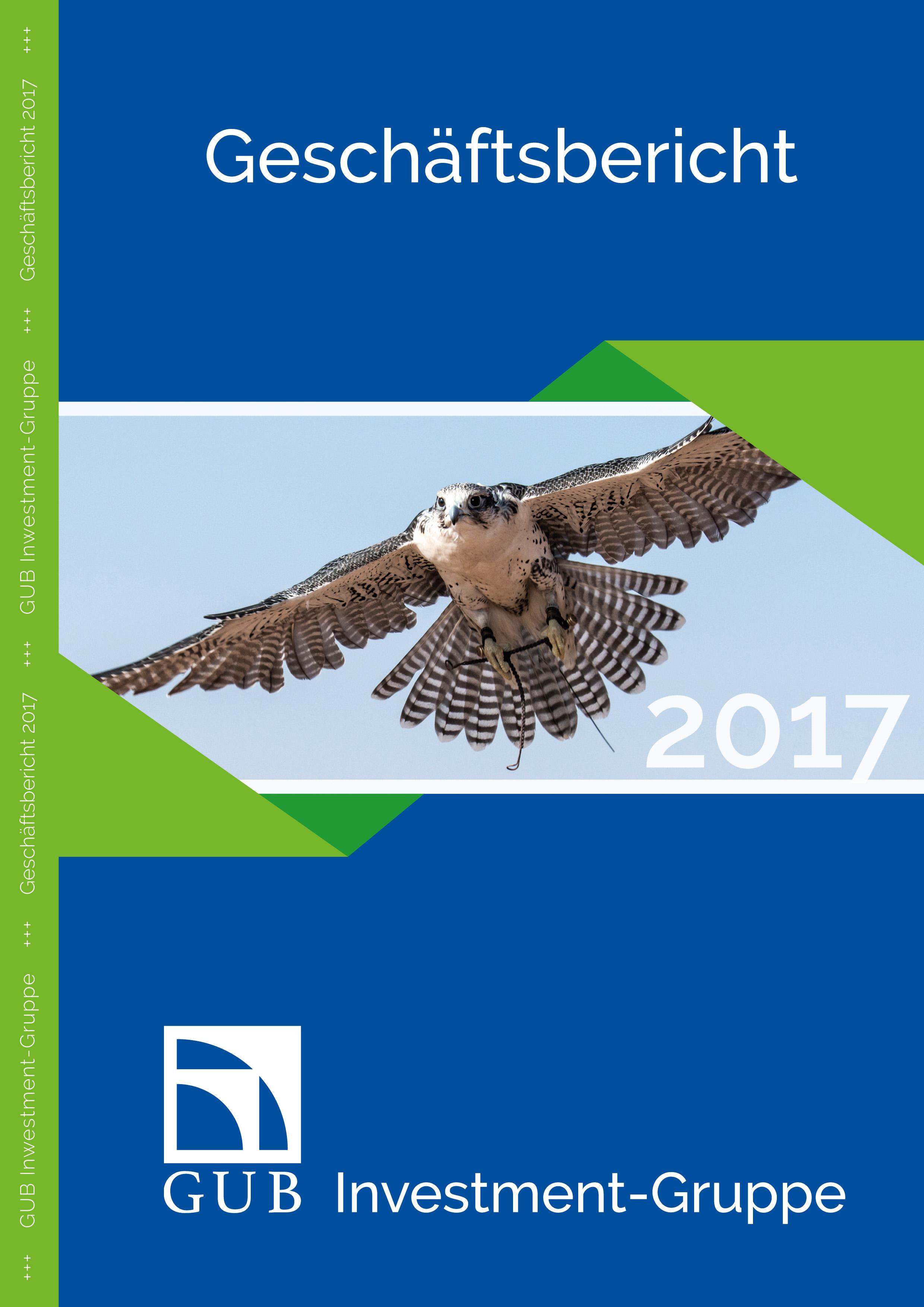 GUB Investment-Gruppe_Geschaeftsbericht_2017_Cover